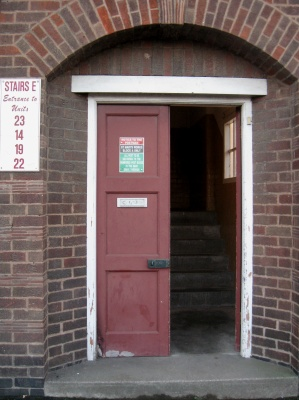 Leicester MMA Academy Entrance