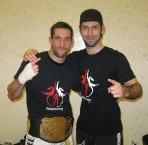Karsten Lenjoint with his British title