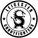 Leicester Shootfighters Team Logo Black Dragon
