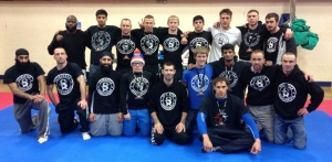 Leicester Shootfighters Team Photo UMA VI British Open NoGi Grappling Championships