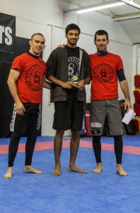 LSF 2012 Grappling Competitor of the Year - Paremveer Bassi